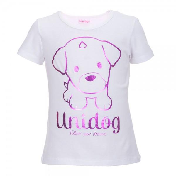 UNIDOG Purple Dance Metallic T- Shirt