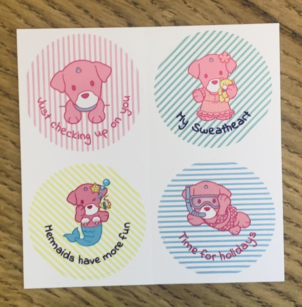 UNIDOG Fun Collection Sticker
